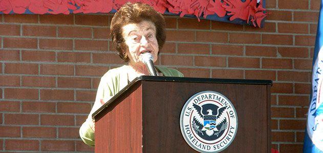 Gerda Weissmann Klein naturalization ceremony