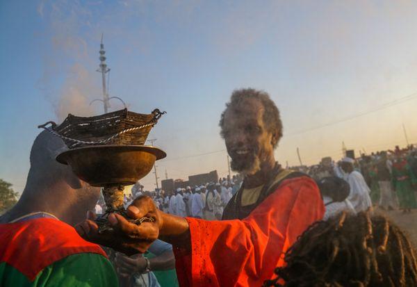 Religious ceremony in Khartoun thumbnail