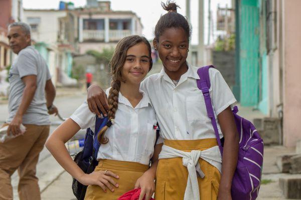 Two Schoolgirls  thumbnail