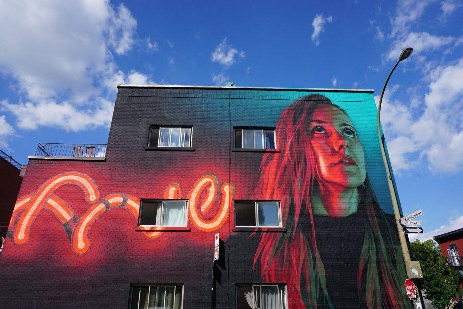 Five8 Mural, Montreal MURAL Festival