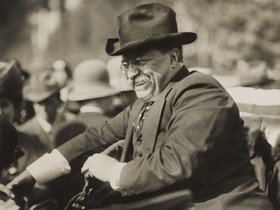 Roosevelt exchanged lively correspondence with all kinds of people for much of his life.
