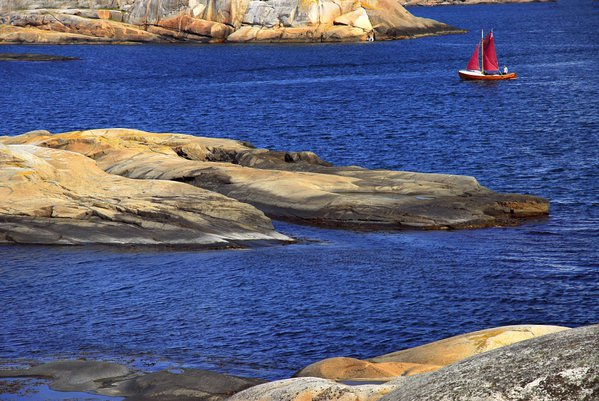 The photo represent the North-Sea, Norwegian coasts... thumbnail