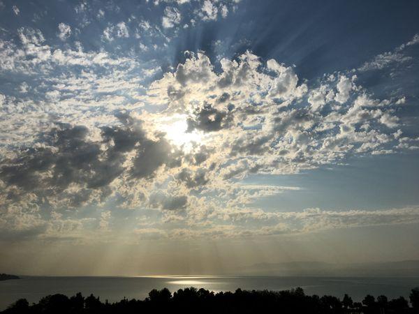 The sun rises over Tajikistan thumbnail