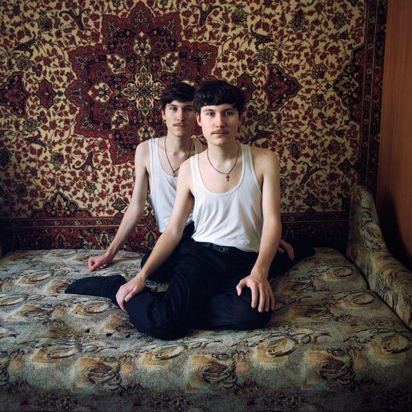Dimitri and Wjatscheslaw Kondratjew, 17 years old, Dimitri older by 5 minutes, 2018 thumbnail