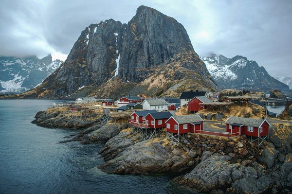 Hamnøy is a small fishing village in Norway thumbnail