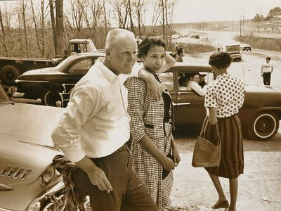 Richard and Mildred Loving by Grey Villet, 1965