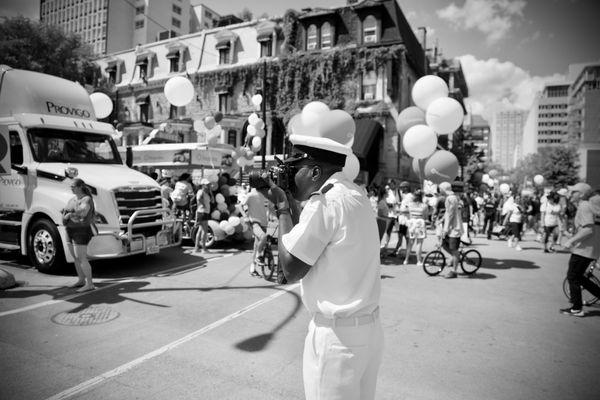 Navy photographer at the Pride thumbnail
