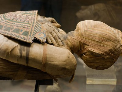 Radiocarbon dating has been used to determine of the ages of ancient mummies, in some cases going back more than 9000 years.
