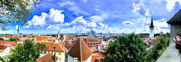 Picturesque view overlooking Tallinn thumbnail