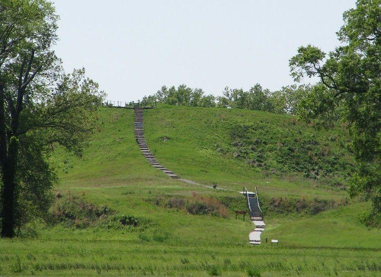 Poverty Point mound