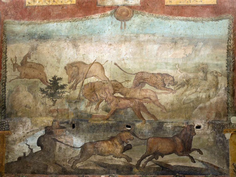 Restored fresco