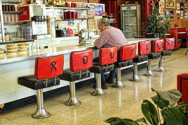 Route 66 Restaurant in New Mexico thumbnail