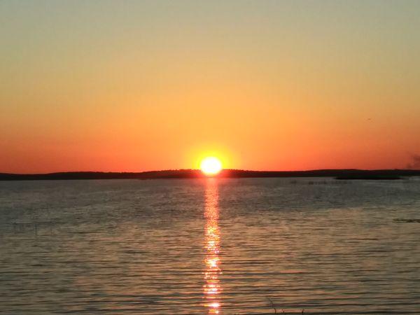 Sunset over Lake Apopka thumbnail