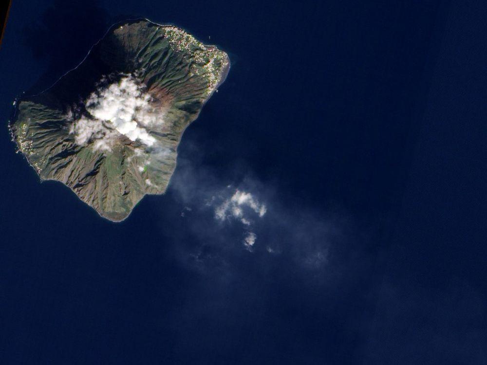Stromboli erupting in 2011