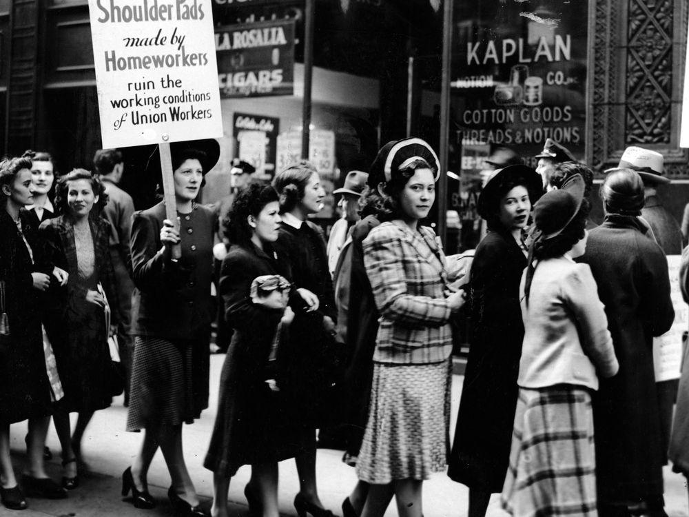 Shoulder Pad Protest