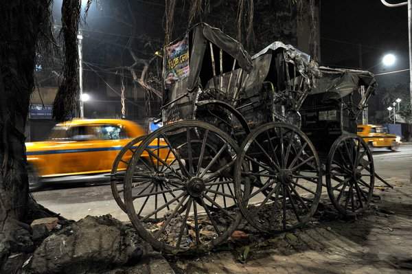 Taxi and rickshaws thumbnail