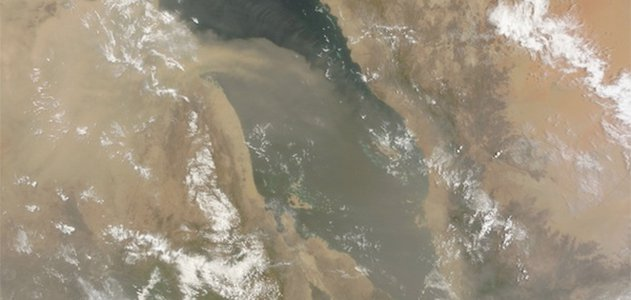 Dust lofted up from the Sahara can be blown across the Pacific and seed clouds over California.