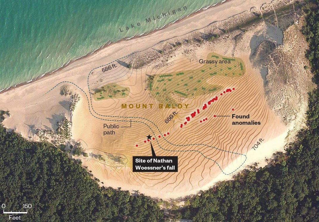 The Mystery of Why This Dangerous Sand Dune Swallowed a Boy