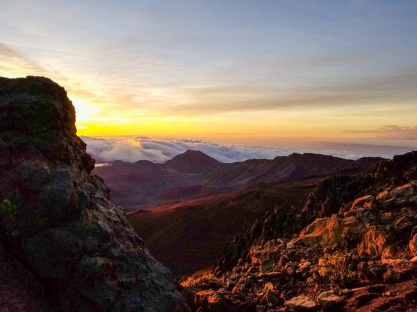 Sunrise on Haleakala Volcano thumbnail