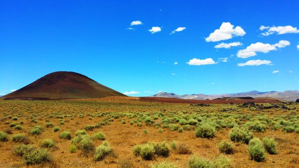 Red Hill Cinder Cone in Inyo County, California thumbnail