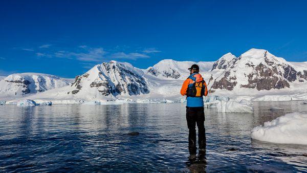 Looking out at Antarctica thumbnail