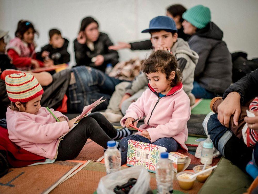 Refugee Children 1