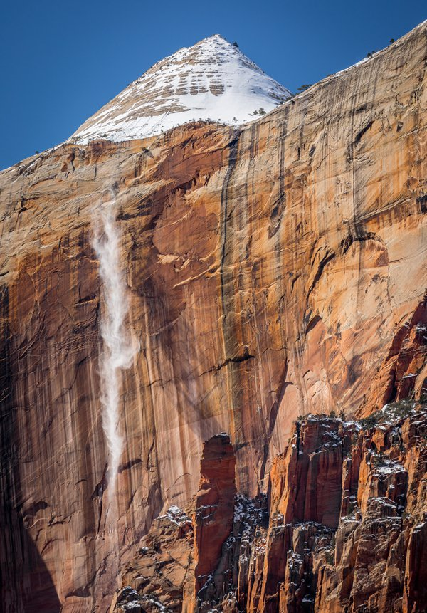 Avalanche in Zion National Pakr thumbnail
