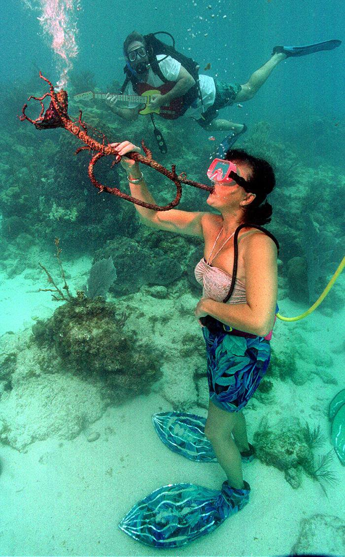 This Florida Music Festival Takes Place Completely Underwater