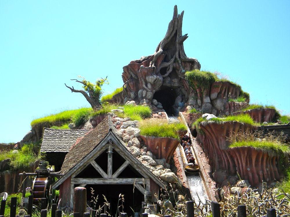 Splash Mountain ride at Disneyland