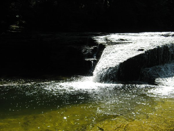 Triangle Waterfall Formation. Caught this capture on a hike. thumbnail