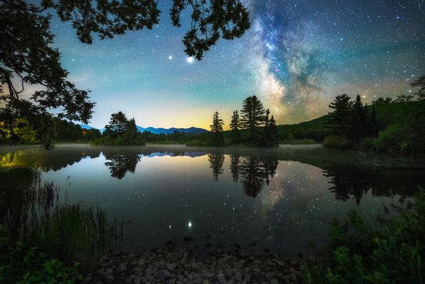 Milky way at Coffin pond thumbnail