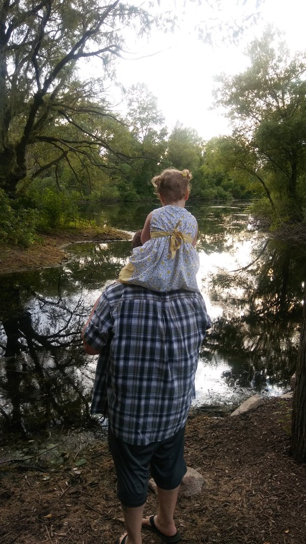 My daughter and i at a local nature preserve  thumbnail