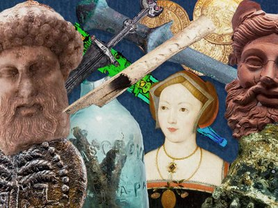 Fascinating finds revealed in 2020 ranged from a portrait of Mary Boleyn to a bust of the Greek god Hermes and one of the world's oldest swords.