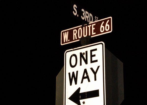Route 66 westward thumbnail