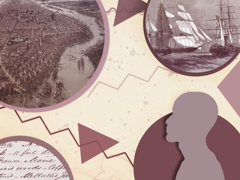Illustration of places associated with Emilio Sanchez