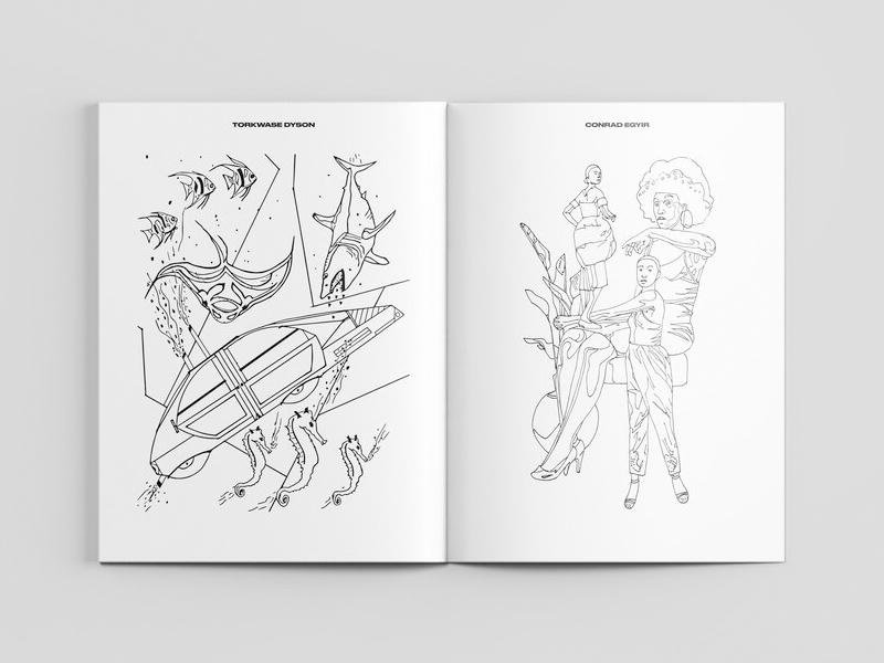Library Street Collective coloring book