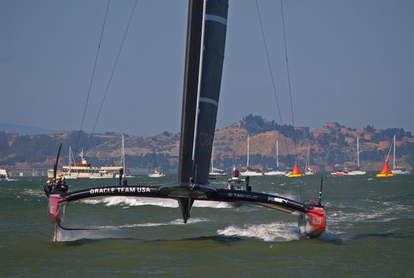 Team Oracle at the 34th America's Cup thumbnail