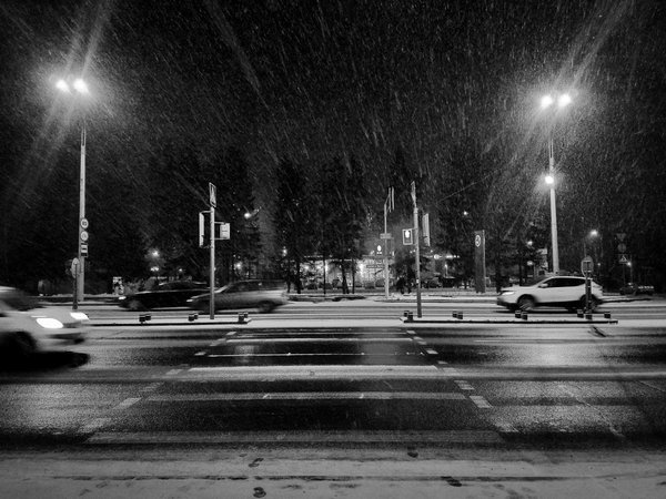 The winter begins in the evening thumbnail