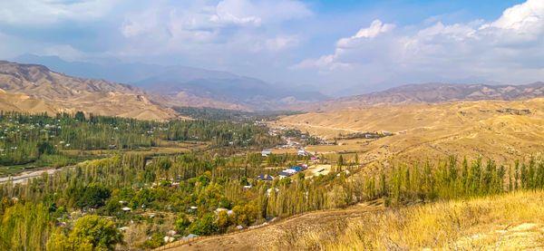 Kuksaray scene from the top of the mountain. thumbnail