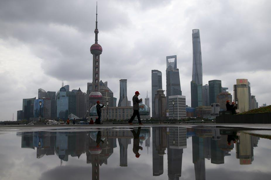 Metropoles like Shanghai