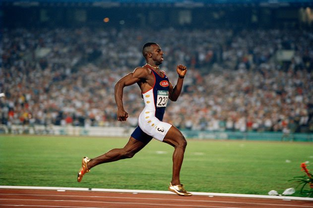 Michael Johnson, Track and Field