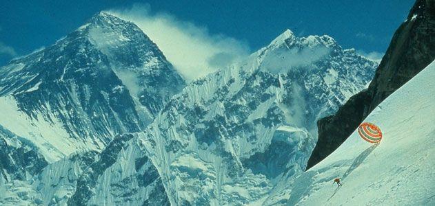 Yuichiro Miura set the world speed skiing record at Italys Kilometer Lanchard in 1964