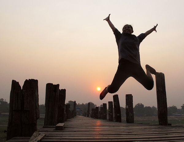 Jumping for Joy, Mandalay Myanmar thumbnail