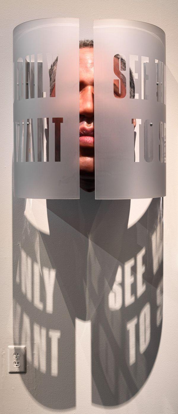 <i>Seen</i> [Robert F. Smith], 2018. Mario Moore. Courtesy of the artist.