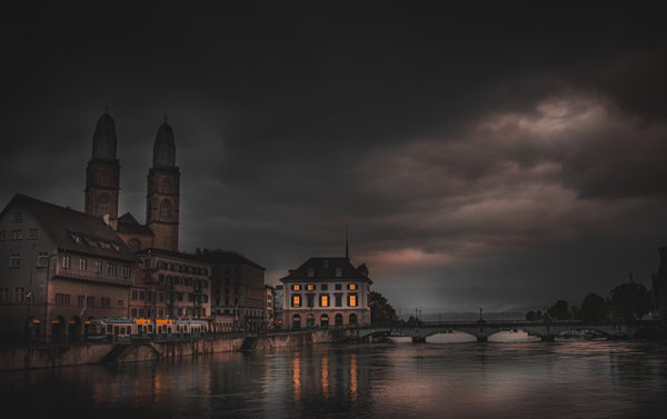 Zurich City after the Storm thumbnail