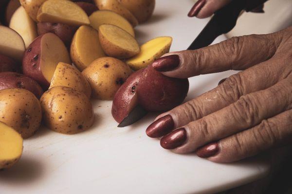 Nana prepares dinner thumbnail