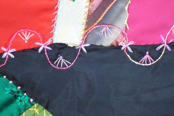 handmade silk quilt thumbnail