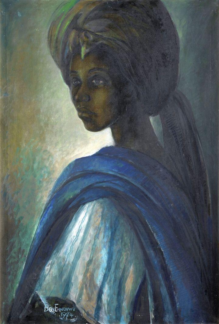 Family Realizes Long-Forgotten Portrait Was Painted by Famed Nigerian Artist Ben Enwonwu