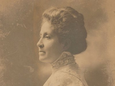 """A portrait (detail, above) of Mary Church Terrell, a prominent D.C. activist and suffragist. The image is just one of dozens of turn-of-the-century photographs featured in """"Pictures with Purpose"""""""