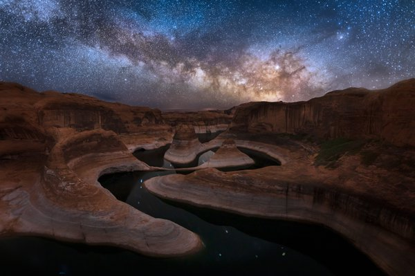 Starry Night at Reflection Canyon thumbnail